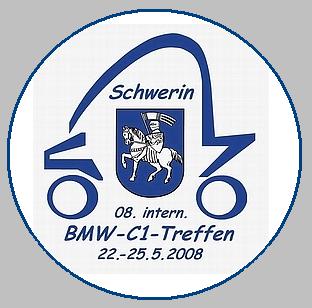 Aufkleber 2001 2017 Internationale Bmw C1 Treffen 2001